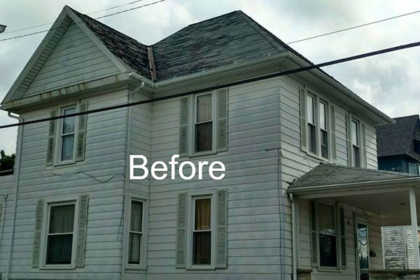 Residential Roof Replacement Fostoria Ohio